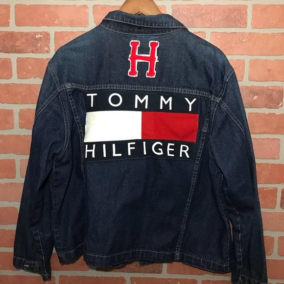 015ca73d Tommy Hilfiger Jackets & Coats | Womens Custom Vintage Jacket | Poshmark